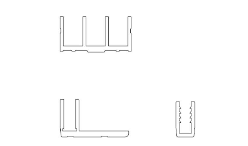 Perfis Especiais de Alúminio -  Perfil em Alumínio em Araucária