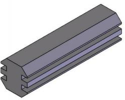 Perfis Base 30mm -  Bancadas em Alumínio em Araucária