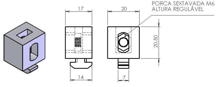 Blocos montagem de chapas – B30-96 -  Enclausuramentos em Araucária