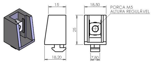 Blocos montagem de chapas – B30-95 -  Automação Industrial em Araucária