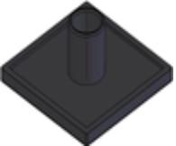 Capas de fechamento Base 20mm -  Bancadas em Alumínio