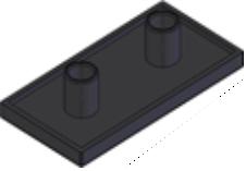 Capas de fechamento Base 20mm -  Perfil em Alumínio em Araucária