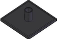 Capas de fechamento Base 30mm -  Perfil em Alumínio em Araucária