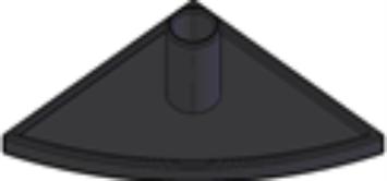 Capas de fechamento Base 30mm -  Automação Industrial