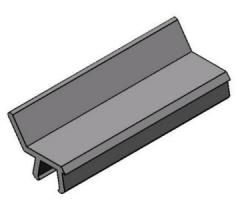 Perfil PU Travamento de Chapas -  Bancadas em Alumínio em Araucária