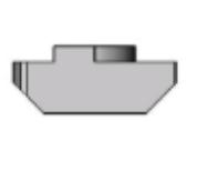 Porcas T Base 40/45mm -  Enclausuramentos