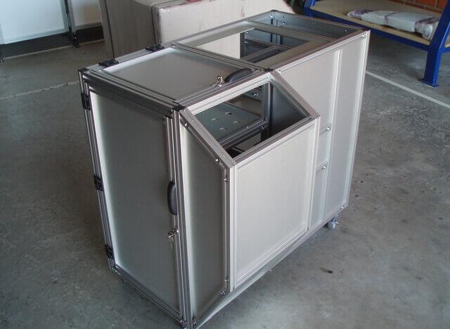 Estruturas de Máquinas -  Bancadas em Alumínio